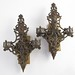 353. Pair of Vintage Brass Wall Sconces