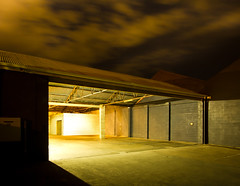 Welcome home (Wayne Grivell) Tags: night shed adelaide carpark waynegrivell
