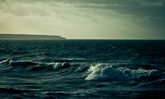 wave (mr.naizz) Tags: blue sea sky water germany warnemnde wasser mark iii wave baltic 5d rough ostsee welle