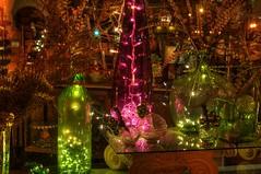 After-Christmas Sale (ZannWalker) Tags: christmas light window glass mississippi 50mm nikon display hdr topaz tupelo photomatix d700