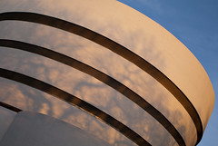 Guggenheim (offthefilm) Tags: nyc sunset usa newyork museum architecture unitedstates pentax manhattan modernism franklloydwright guggenheim uppereastside k7 museummile 31mm smcpfa31mmf18 falimited