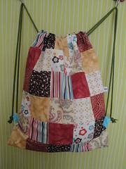 Bolsa-mochila+patchwork