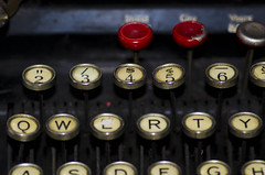 old school qwerty *explored* (gary's images @ studio g) Tags: oldschool qwerty typewritter ourdailychallenge nikond7000tokina100mmlatuquequebeccanada