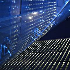 The blue notebooks #2 | V.Blues (TheManWhoPlantedTrees) Tags: blue music lines architecture night reflections square 100views picnik brisesoleil apel bsquare maxrichter thebluenotebooks arquitecturaportuguesa quadratum nikond3100 myphotost tmwpt