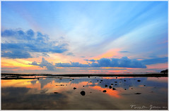 Sunset in Dakak Beach Resort (ZhaZha Gatch) Tags: sunset landscape nikon scenery philippines reflexions mindanao dakak dipolog dakakbeachresort zamboangapeninsula bestofblinkwinners