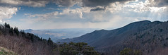 Stormy Spring Afternoon (John Cothron) Tags: panorama usa cloud mountain 35mm landscape nc spring northcarolina stormy valley blueridgeparkway lightrays afternoonlight carolinas sylva nantahalanationalforest canonef50mmf14usm jacksoncounty yellowface johncothron cothronphotography yellowfaceoverlook 2jtrip2010 img2020100414ps