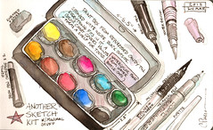 Another Sketch Kit (CarolePivarnik) Tags: watercolor sketching sketchkit