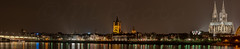 Cologne by night (mlphoto) Tags: light panorama reflection night river pentax cologne photowalk nightscene hdr longtimeexposure pentaxk20d mlphoto mlphoto markuslandsmannzenfoliocom