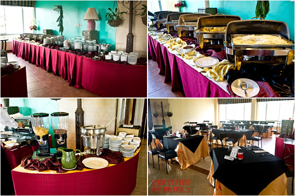 Breakfast buffet at Flora Cafe in Hotel Elizabeth Baguio