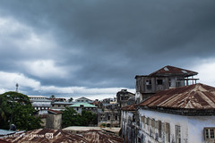 Thunder over Stone Town, Zanzibar (Uli Hollmann) Tags: unescoworldheritagesite zanzibar stonetown crumblinghouses