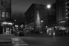 _DSC0533 Saint Paul, Minnesota USA (POV Heartland) Tags: street city urban bw minnesota architecture night zeiss sony e twincities fe alpha saintpaul fitzgerald carlzeiss a7ii loxia sonyalpha a7m2 loxia250 loxiaf250mm loxiaf250