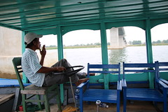 Boat trip on the Thu Bon River (Bex.Walton) Tags: travel green river vietnam hoian thubon