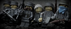 Battle of Aachen - WWII (Brick Police) Tags: lego wwii german legos ww2 minifig