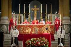 Solemn Mass in Westminster Cathedral (Catholic Church (England and Wales)) Tags: solemn mass westminster cathedral honour st thomas becket celebrated by cardinal erd
