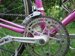 1970s Mercier (akimbo71) Tags: mercier pink stronglight leroica mafac