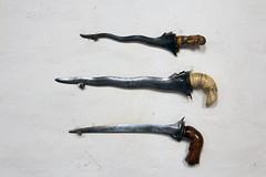 Cotehele Knives (ir0ny) Tags: hall tudor knives elizabethan nationaltrust cotehele