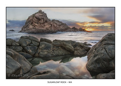 Sugarloaf Rock (JChipchase) Tags: sunset seascape nikon australia d750 sugarloaf