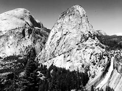LIBERTY CAP, YOSEMITE, CALIFORNIA (clarkebuxton) Tags: california blackandwhite roadtrip yosemite anseladams libertycap
