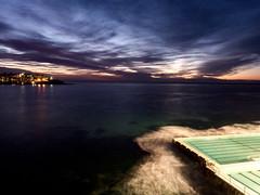 31DaysInMay031 (zoesyoung) Tags: ocean sea beach water bondi sunrise surf sydney australia oceanpool icebergspool