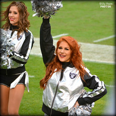 2015 Oakland Raiderette Wendy (billypoonphotos) Tags: woman black girl lady silver photography oakland photo dance football team nikon pretty photographer cheerleaders nfl nation picture dancer redhead packers coliseum females cheerleading squad wendy fabulous raiders raider 2015 raiderette raiderettes raidernation d5200 billypoon billypoonphotos
