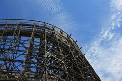 Roller Coaster (rarefruitfan) Tags: park sky berry farm roller coaster knotts buena
