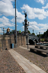 Djurgrdsbron Bridge to Djurgrden Stockholm (John Broberg) Tags: stockholm sweden bridge historical old