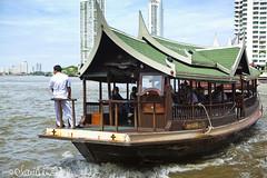 (by claudine) Tags: thailand boat bangkok culture transportation thai customs chaophrayariver boattaxi hotelboat travelphotographyworldphotosuniquebyclaudine