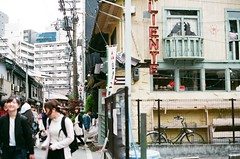 Out-of-focus (Yumeboo) Tags: film osaka om1