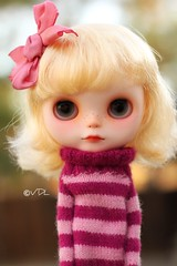 Can you say NO to her? (voo_doolady) Tags: wearing hazel blythe custom meimei utter lunitassweater mabgraveshairbow mabness