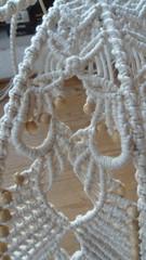 particolare della lavorazione (patty macram) Tags: casa lavori macrame pizzo arredamento immagini accessori margarete lampade macram margaretenspitze