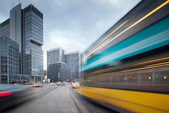 Spittelmarkt (96dpi) Tags: longexposure berlin construction traffic baustelle highrise verkehr hochhaus spittelmarkt gettygermanyq4