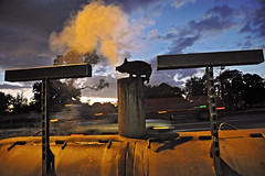 Barbecue Sunset (george mitchell1) Tags: barbecue arcadia highway31