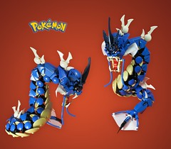 Commission 3/3: Gyarados (retinence) Tags: water factory dragon lego technic hero pokemon fusion bionicle gyarados