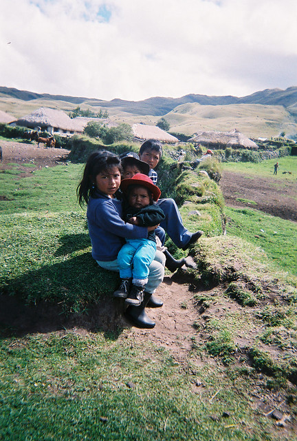 Children on a Hill