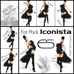 Essential Soul - Fat Pack [Iconista] (skylei Caproni Miss V Mexico 2012) Tags: essentialsoul skyleicaproni