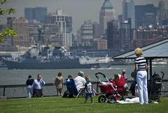 Fleet Week, Navy ships arrive in NYC. (dkjphoto) Tags: park nyc newyorkcity travel usa newyork tourism skyline america skyscraper river boat ship tour unitedstates manhattan ships navy johnson tourist northamerica hudsonriver hudson hoboken fleetweek dennisjohnson wwwdenniskjohnsoncom