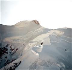 Mont Blanc detail 02 (Katarina 2353) Tags: travel winter vacation mountain snow france alps film photography high nikon europa europe view place image peak chamonix francia mont blanc montblanc evropa katarinastefanovic katarina2353