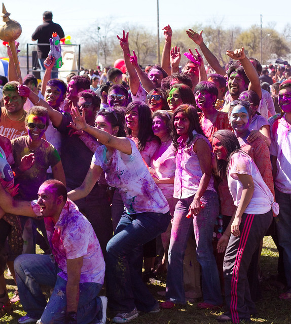 Houston Holi 2012