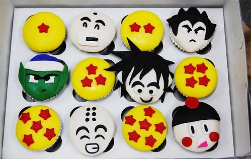 Flickriver: Photoset 'Dragon Ball Z #2' by Animated Cupcakes