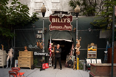 RIP Billy's Tent of Antiquities (joe holmes) Tags: houston bowery billys ny1 billysantiques billysantiquesandprops billyleroy casquare