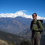"Nick with Dhaulagiri Range <a style=""margin-left:10px; font-size:0.8em;"" href=""http://www.flickr.com/photos/14315427@N00/6842968444/"" target=""_blank"">@flickr</a>"