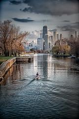 Serene Before The Storm.jpg (Milosh Kosanovich) Tags: sunset chicago storm night clouds cityscape lagoon lakemichigan fullerton hdr lincolnpark lakefront milosh kosanovich