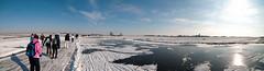 Schaatspanorama (King of Jive) Tags: panorama amsterdam waterland noord schaatsen amsterdamnoord broek toertocht natuurijs landelijknoord oosttocht