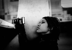 (renatovalenzuelajr) Tags: bw white black film portraits prime nikon jerseycity fuji fujifilm nikkor neopan400 fg 50mm18 nikonfg