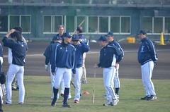 DSC_0730 (mechiko) Tags: 120205 横浜ベイスターズ 石川雄洋 渡辺直人 横浜denaベイスターズ 2012春季キャンプ