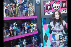 Monster High Toy Fair 2012 (IdleHandsBlog) Tags: toys dolls horror monsters mattel collectibles monsterhigh toyfair2012