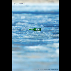 So fresh ! (so stupid !) {explored} (dominikfoto) Tags: green ice beer frozen bottle nikon frais glace biere bouteille gel glac 400mm doubler fusina 70200mmf28 doubleur d3s fusinadominik tc20eiii tce20iii