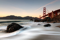 Marshall Beach and Golden Gate Bridge 2 (Shaun Ramsay Photography - www.shaunramsay.com) Tags: sanfrancisco california bridge beach coast waves pacific rocky explore goldengatebridge shore marinheadlands ggb shaunramsay marshallbeach 5dii