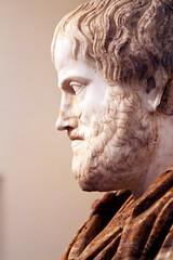 Aristotle (Nick in exsilio) Tags: italy sculpture rome roman philosophy bust aristotle lazio philosophe aristoteles philosophia