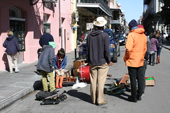 Musicians warming up (BusyDad) Tags: zatarains
